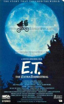 E.T.: The Extra-Terrestrial Beta