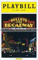 Bullets Over Broadway The Musical Playbill