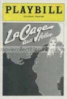 La Cage Aux Folles Playbill