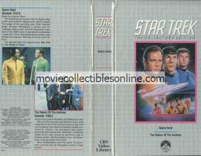 Star Trek Beta - Space Seed, Return of the Archons