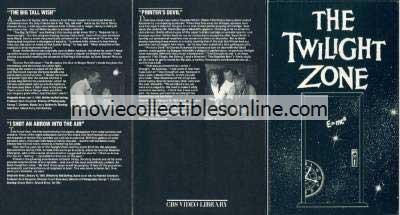 Twilight Zone Beta - Big Tall Wish, I Shot an Arrow into the Air, Printer's Devil