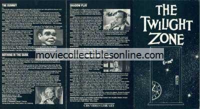 Twilight Zone Beta - Dummy, Nothing in the Dark, Shadow Play, 16-Millimeter Shrine
