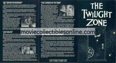 Twilight Zone Beta - Mr. Denton on Doomsday, Shelter, Lateness of the Hour, Trouble with Templeton