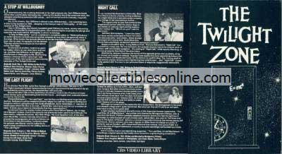 Twilight Zone Beta - Stop at Willoughby, Last Flight, Night Call, Last Rites of Jeff Myrtlebank